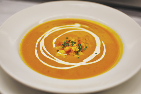 Maple Butternut Squash Soup | Daily Dalliance